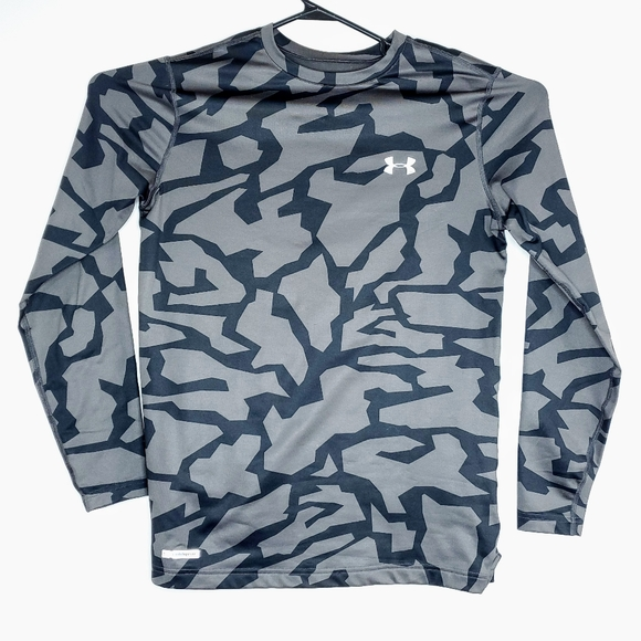 UNDER ARMOUR Men/'s UA Camo Pocket Utility Hunting Long Sleeve Shirt NWT LARGE